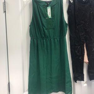 NWT cute Green sleeveless dress